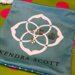 Kendra scott dira studs gold earrings